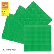 LEGO Green Baseplate 626 (25cm x 25cm ) Set of 4