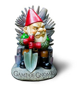 """Big Mouth Toys """"Game of Gnomes"""" Garden Gnome Statues"""