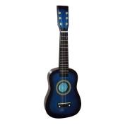 YR-Seasons 60cm Children Acoustic Guitar Beginner Guitar Package Kids Toy Guitar Student Guitar (Guitar+Pick+Strings), Blue