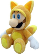 Little Buddy Official Super Mario Plush Kitsune Fox Luigi, 23cm