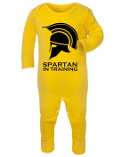 Spartan In Training Baby Rompersuit / Playsuit