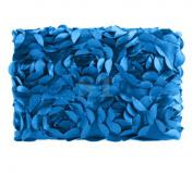 Ubesta Fashion Newborn Baby 7D Photography Photo Props Rose Flower Backdrop Blanket Rug-Dark Blue