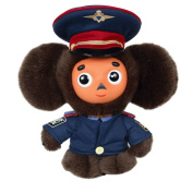 Cheburashka in Russian State Police uniform 17cm