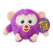 Zigamazoo New Snuggables Ziggle and Giggle Soft Teddy Toy 3+ purple