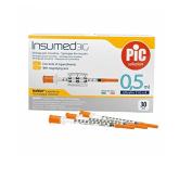 Insulin Syringes 0,5 Mlinsumed For Insulin Syringe Gr 31 0,5 Ml 30 Pieces