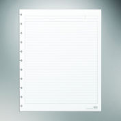 Staples. Arc Notebook Filler Paper, Letter-size, Narrow-Ruled, White, 22cm x 28cm , 50 Sheets