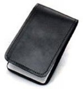 HWC LEATHER POCKET 3X5 MEMO BOOK COVER NOTE PAD HOLDER - PLAIN