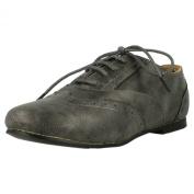Cutie Low Heel Lace Up brogue Shoe