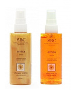 SBC Arnica Duo - Skincare Gel + Shower Crème, 2 x 100ml