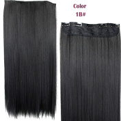 Sexy Fashion Clip In Human Hair Extensions-High Quality Synthetic Fibre Wigs Like Real Human Hair