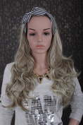 Sexy Long Curly Loose Weave Party Halloween Cosplay Human Hair Extensions For Women Like Real Human Hair