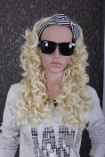 Sexy Long Curly Loose Weave Party Halloween Cosplay Human Hair Extensions For Women
