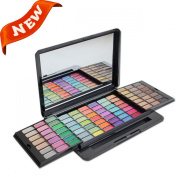 Pure Vie(TM) Professional 84 Colours Cream Concealer Camouflage Makeup Eyeshadow Palette Contouring Kit