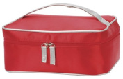 SHUGON Toiletry bag Make-Up cosmetic bag-VIENNA 4838 4.2L-Red