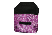 Cosmetic Makeup bag Small cosmetics bag with Flap Gothic spider web spider web KT011