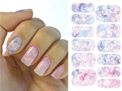 Full Wrap Nail Art Water Transfer Decal Sticker K5711B Nail Sticker Tattoo - FashionLife