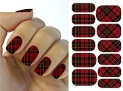 Full Wrap Nail Art Water Transfer Decal Sticker K5612B Nail Sticker Tattoo - FashionLife