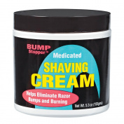 High Time Bump Stopper Shaving Cream W/Tea Tree Oil 150ml Tube