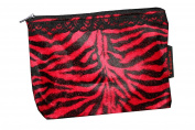 Toiletries Bag Red Tiger Tierfellimitat KB006