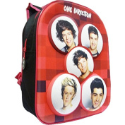 1D One Direction 3D Backpack School Bag