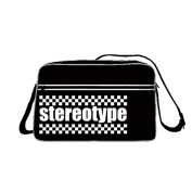 2 Tone Stereotype Messenger Bag Ska 2 Tone Specials Madness FREE UK Postage