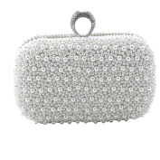 LOSORN ZPY174; Clutch Purse (oblong shape)/evening shouder bag for party weeding prom and an evening out with a ring on the bag fashion lady design /with detachable chain strap