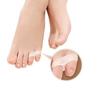 Pair of Silicone Little Toe Separator Protector Brace