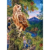 MasterPieces Peek Season Night Watch Jigsaw Puzzle, Art by Dona Gelsinger, 1000-Piece
