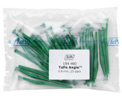 TePe Interdental Brush Angle - Green 0.8mm 25 pack by TePe Munhygienprodukter AB, Sweden