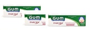 GUM Paroex Toothpaste Gel 3 x 75ml