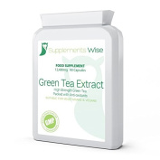 Green Tea Capsules 90 x 12480mg High Strength Extract Weight Loss Fat Burning Supplement High In Antioxidants Suitable For Vegetarians & Vegans