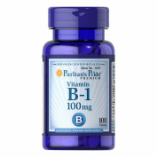 Puritan's Pride Vitamin B-1 100 mg 100 Tablets 1670