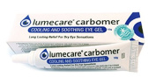 Lumecare Carbomer soothing eye gel 3 x 10g tubes BULK BUY