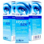 TRIPLE PACK of Hycosan Moisturiser Blue 7.5ml