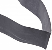 Cando 10-5225 Black Low Powder Latex Exercise Band, X-Heavy Resistance, 50 yd Length