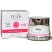 True Natural Anti-Ageing Rose Night Cream