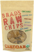 90ml Cheddar Flavour - Famous Brads Raw Chips - Vegan, Gluten Free, Natural, Healthy Snack