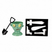 Paladone Zombie Eggpocalypse Egg Cup and Toast Cutter Set