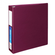 Avery Heavy-Duty Binder with 5.1cm One Touch EZD Ring, Maroon, 1 Binder