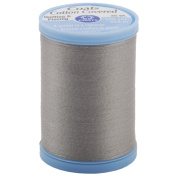 COATS & CLARK Cotton Covered Quilting and Piecing Thread, 250-Yard, Nugrey