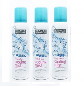 3 x Beauty Formulas Cooling Mist Spray Cools Face And Body Travel 150ML
