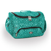 Beauty Bag Imperial Teal Beautician Case Hairdressing Toolbag Salon Storage Holder
