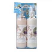 Di Palomo - Orange Blossom with Wild Honey & Olive - Bath & Body Gift Set - Including Bath & Shower Gel 225ml and Hand & Body Lotion 225ml