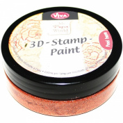 3D Stamp Paint 50ml-Copper