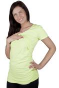 Maternity Pregnancy nursing comfortable Top Short sleeve