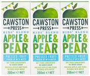 Cawston Press Kids Blend Apple and Pear Juice Triple Pack 3 X 200 ml