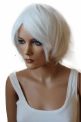 PRETTYsHOP Fashion Wig Cosplay Straight White Heat-Resistant