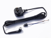 GHD Black MK4 Compatible Power Cable and Connector - AU Plug