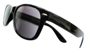 Designer Black +1.5 WAYFARER SUNREADERS Tinted READING GLASSES Sunglasses Spectacles 100% UV Protection
