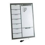 Fridge Board Magnetic With Marker White Board & Pen